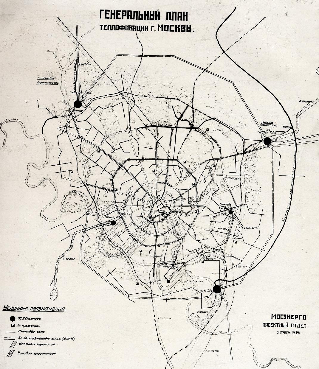 схема теплоснабжения города томска